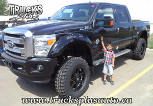"""6"""" lift w/ 20"""" rims, MT tires & flares from ONLY $5300 instld!"""