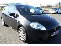 Fiat Grande Punto 1.4 Sound 5dr. GUARANTEED FINANCE payment between £20-£40 PW