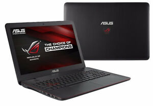 Laptop gamer/video ASUS ROG GL551 i7 2.50Ghz 16go RAM 256Go SSD