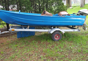 Aluminum boat only !! (No trailer or motor)