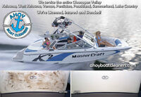 Professional Boat Cleaning and Detailing Using Only Eco-Friendly