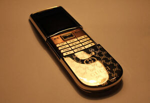 REAL NOKIA 8800 Sirocco 18k GP Gold Edition 128M Storage Luxury Slide