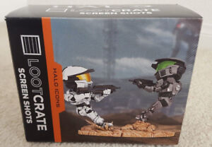 Halo Icons Spartan-IV Figure Loot Crate Exclusive 2017 Microsoft