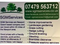 SGMServices landscaping and gardening services