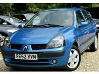2002 Renault Clio 1.4 16v Privilege 5dr Hatchback Petrol Automatic