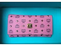 Brand-new 100%AUTH MCM cute pink bag