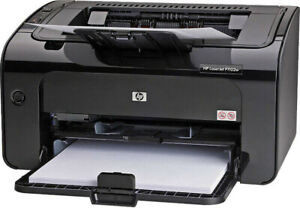 HP LaserJet P1102w & cartridge