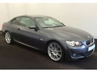 2007 BMW 330i 3.0 M-SPORT COUPE GOOD / BAD CREDIT CAR FINANCE AVAILABLE