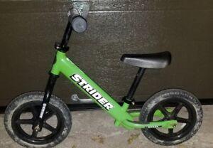 Vélo d'entraînement- Strider- 35 $