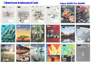 Timbres neufs canadiens