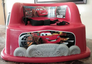The First Years Disney Pixar Cars Simple and Secure Booster Seat