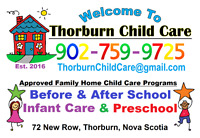 After-School Child Care - for Thorburn Consolidated School!