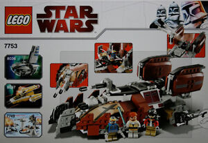 LEGO STAR WARS SET 7753 Pirate Tank brand new FIRM