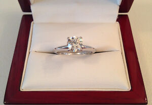 SAVE $5,420 GIA certified! 0.67ct, VS1, J Brand New Condition!!
