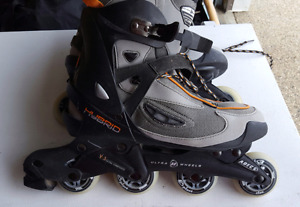 Ultra Wheels Rollerblades Mens 12. EUC $40