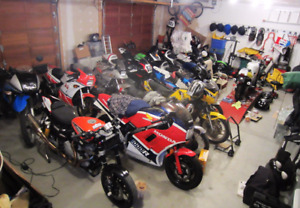 WINTER MOTORCYCLE STORAGE - HEATED/SECURED - LIMITED SPACE