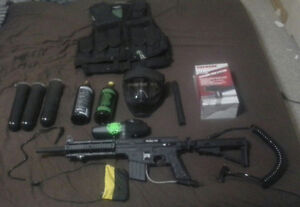 paintball set up