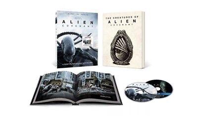 Alien Covenant Target Exclusive Blu Ray Dvd Digital Hd New Unopened