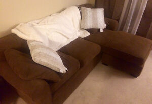 Chocolate Brown Sectional For Sale