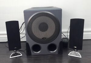 Cyber Acoustics Speaker Set With Subwoofer Complete