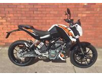 KTM DUKE 125 LEARNER LEGAL