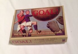 Goal! A Card-Based Football Game of Skill and Speed for 2-6 Players. Complete.