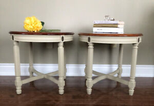 French Country Side Tables