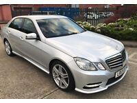 Mercedes-Benz E Class 2.1 E220 CDI BlueEFFICIENCY AMG Sport 7G-Tronic Plus 4dr (start/stop)