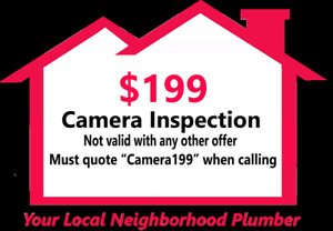 Drain Cleaning and camera inspections same day service
