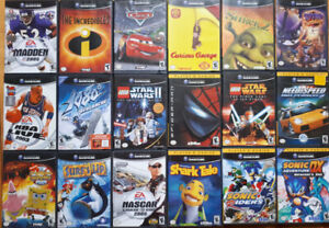 Nintendo Game Cube Games and Controller