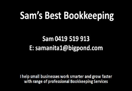 Sam's Best Bookkeeping Essendon West Moonee Valley Preview