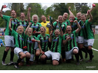 WOMENS FOOTBALL - JOIN A SUCCESFUL AND FRIENDLY CLUB