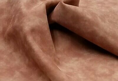 Red Tint Brown Marbled Kid Suede Leather 4sf Crafts Binding Handbag Upholstery Brown Suede Leather Footwear