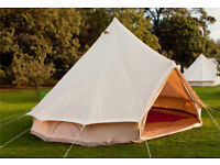 4 Metre deluxe Bell Tent, brand new and boxed.
