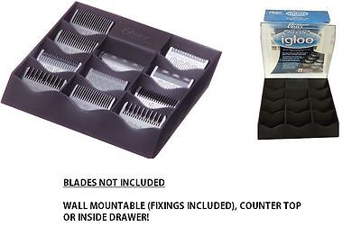 OSTER ARCTIC IGLOO CLIPPER BLADE STORAGE CASE BOX OSTER 97, ANDIS, WAHL,