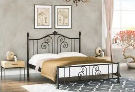 KING METAL BED BASE -BRAND NEW- DOUBLE - KING SIZE