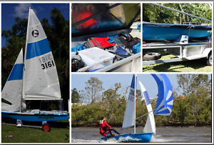 125 Sailing Dinghy Camp Hill Brisbane South East Preview