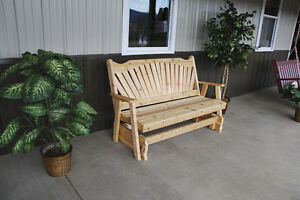 Outdoor-Cedar-6-Foot-Fanback-Porch-Glider-8-STAIN-COLORS-6-Ft-Glider