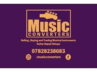 Music Converters Guitar Tech