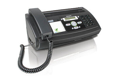 3-IN-1 Philips Magic 5 Primo A4 Fax-Gerät mit Telefon Kopierer All-in-One NEU