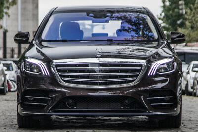 Mercedes S-KLASSE W222 Facelift LCI Scheinwerfergläser Linse Plastik Cover (