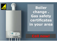 boiler change , gas safety certificates