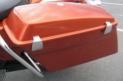 Harley Road King & Electra Glide Hard Saddlebag Latch Kit for Police Saddlebags for sale  USA