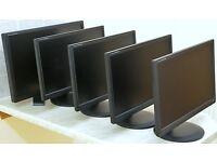 "Lot 5 iiyama Prolite Widescreen Computer PC Monitors Monitor - 27""x1, 23""x4 (Rotatable), WILL SPLIT"