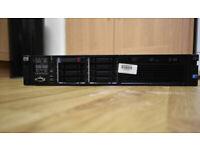 HP PROLIANT DL380 G7 SERVER 32GB RAM 2x Xeon Quad Core 2.40Ghz 500GB S
