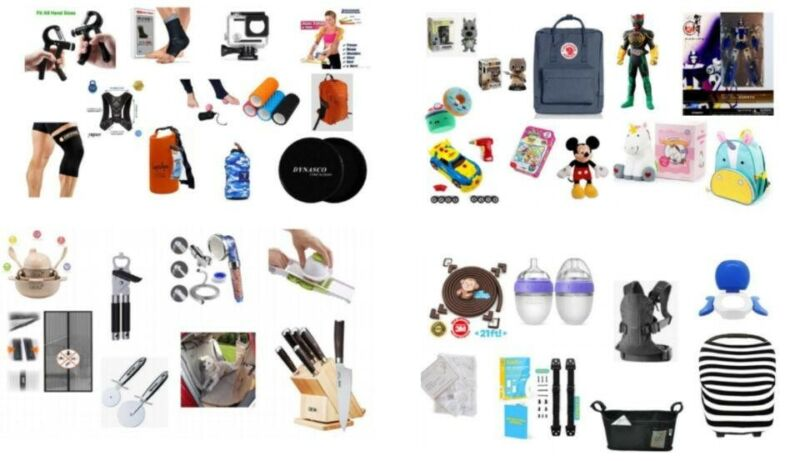 Wholesale General Merchandise Lot | 100 New Products | $1,000 Estimated Value