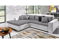 LORETTO Delivery 1-3 days Corner Sofa Bed Sofa Corner Brand New Packed Function and Storage