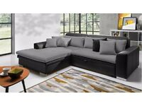Delivery 1-10 days LORETTO Corner Sofa Bed Sofa Corner Brand New Packed Function and Storage
