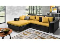 Delivery 1-3 days NEW Colou Corner Sofa Bed Sofa Corner LORETO Brand New Packed Function and Storage