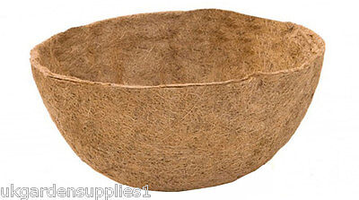 """Blacksmith Hanging Basket Coco Liner 40cm (16"""") - Plant liner - Pot Coco liner"""